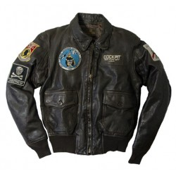 USS Forrestal Carrier Pilot's Vietnam Flight Jacket